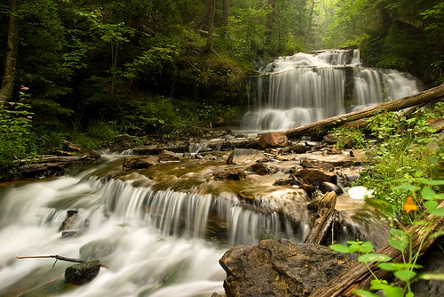 Wagner Falls - Summer 2005 | by James Marvin Phelps