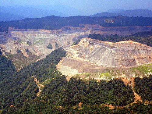 Mountaintop removal mine in southwest Virginia | by iLoveMountains.org