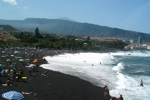 Playa jardin puerto de la cruz tenerife picture of for Playa jardin