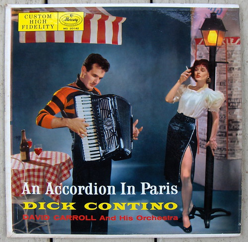 Dick Contino / An Accordian In Paris | by bradleyloos