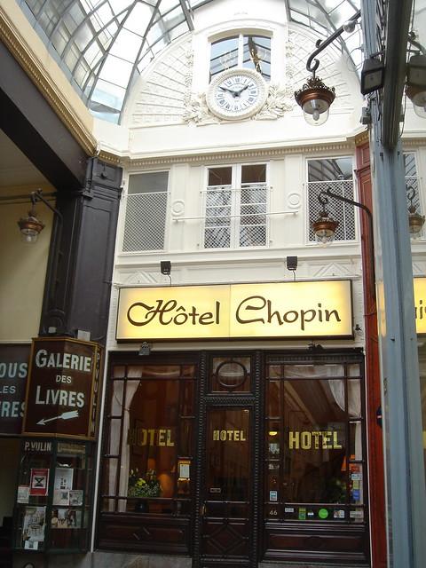 Hotel Chopin Paris Pabage Jouffroy