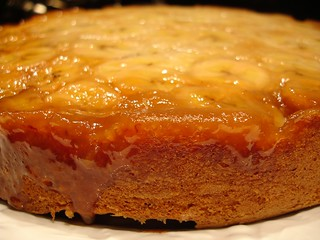 Banana Upside-Down Cake 2 | by girlychimp