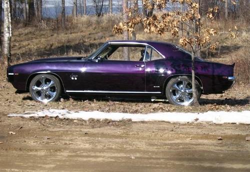 1969 Super Sport Metallic Purple Camaro This Is My Dream