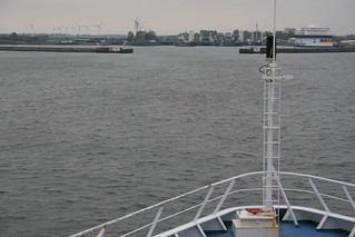 Ferry arriving in Germany from Denmark | by TwoCrabs