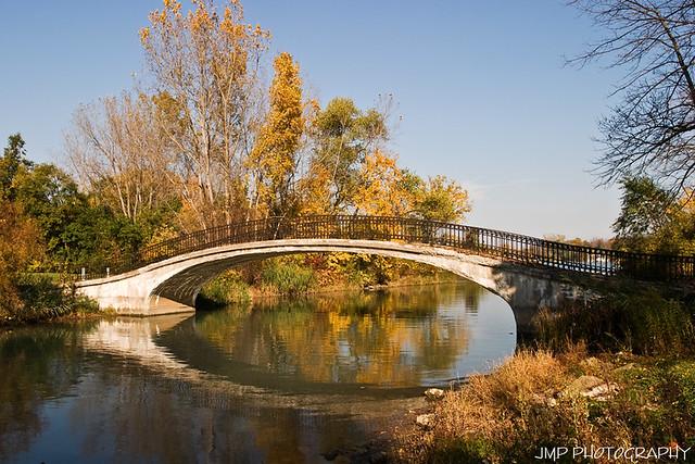 Elizabeth Park Reflection   Fall Reflection Detroit River ...