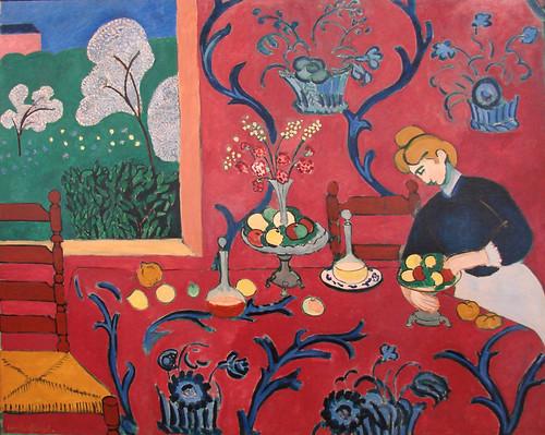 La Chambre Rouge  Henri Matisse
