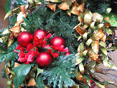 hawaiian christmas decoration by photoluluguy hawaiian christmas decoration by photoluluguy