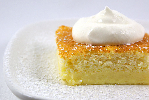 Lemon Pudding Cake This Simple Cake Doesn T Look Too