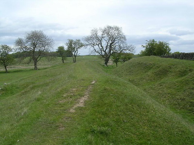 ditch east of Heavenfield