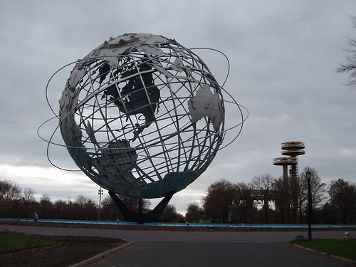 The Unisphere and NY State Pavilion | by I like
