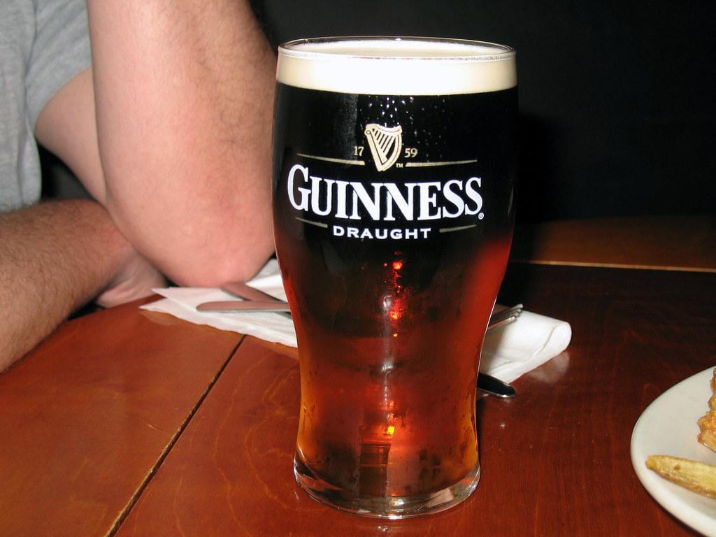 Guinness Tastes Like Chocolate Milk