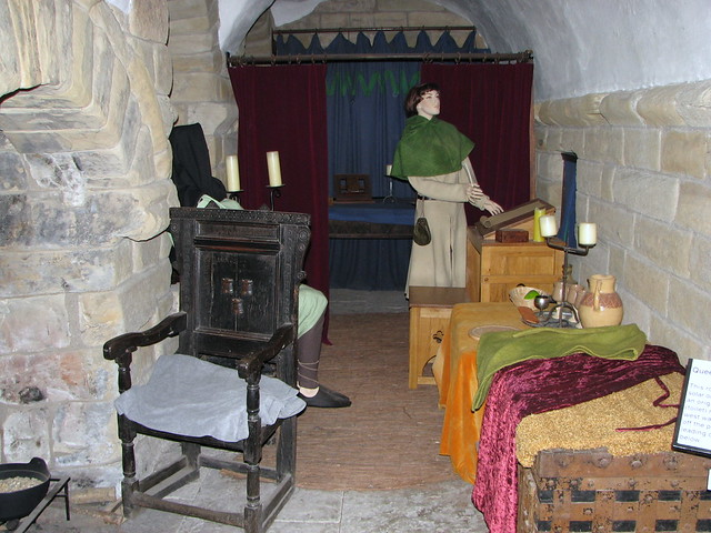 Bed chamber - Inside The Castle Keep (interior) - Newcastl ...