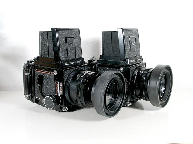 Mamiya RB 67 pro SD equipment - cameras