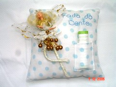 Fada do Dente - Tooth Fairy Cushion | by Teka e Fabi®