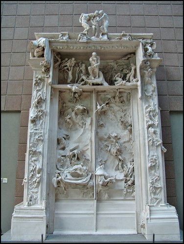 Auguste rodin la porte de l 39 enfer rodin nunca vi su famo flickr - La porte de l enfer rodin ...