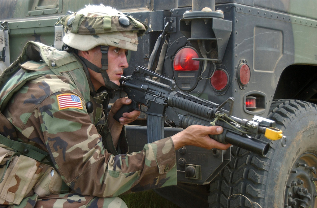 Public Domain American Soldier By Master Sgt Johancharle