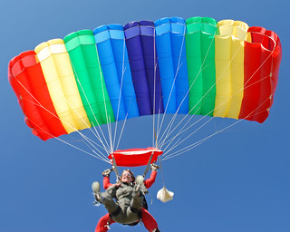 Skydiving Oct 2006', rainbow tandem ride | by divemasterking2000