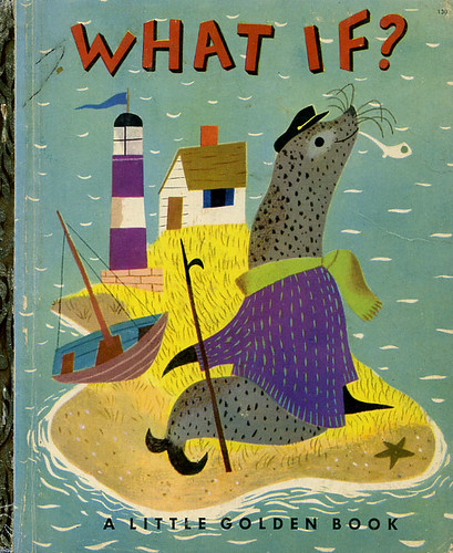 What If? Little Golden Book | by grickily
