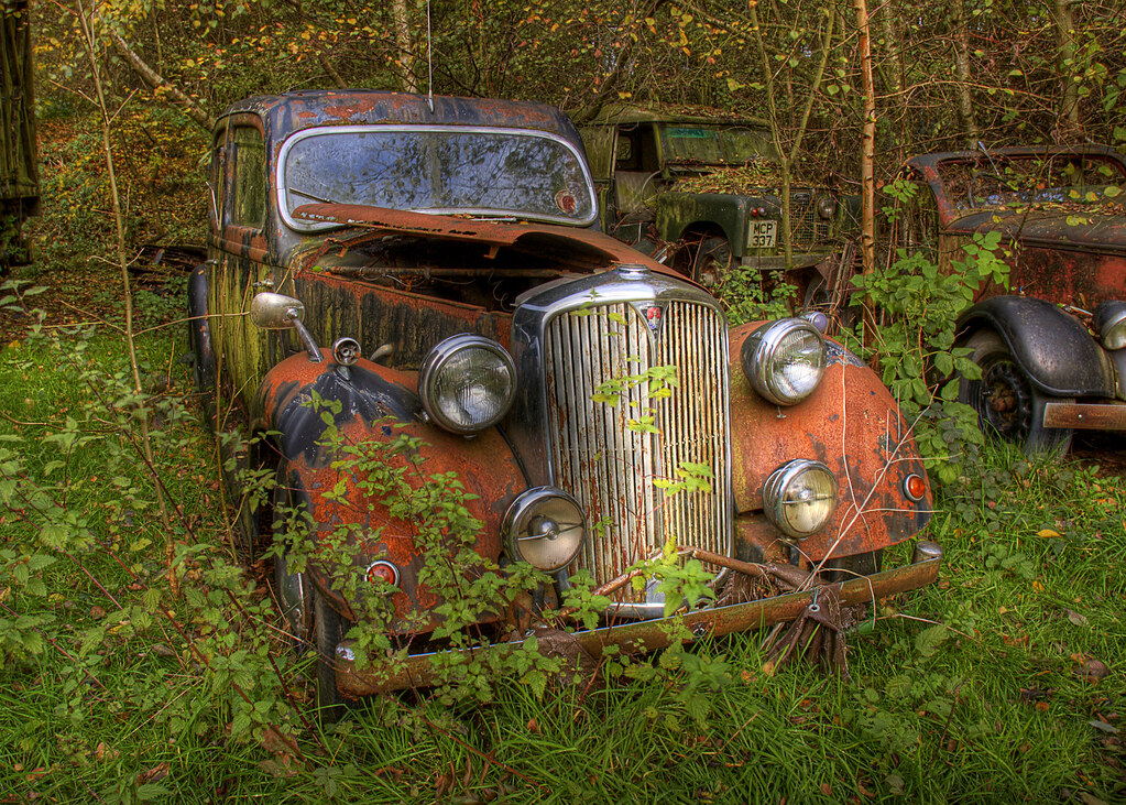 Rusty Old Car | This \'treasure\' is currently NUMBER ONE in t… | Flickr