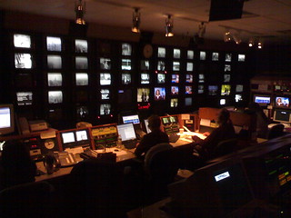 NBC5 News Control Room | by Eric Olson