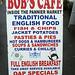 Bob's Cafe, Tavistock