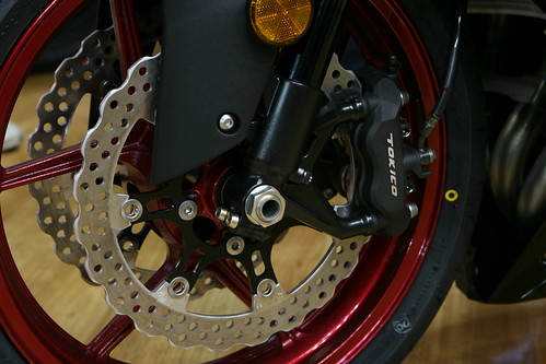 Kawasaki ZX-10R front wheel | by Allerina & Glen MacLarty