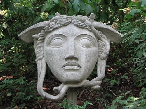 Medusa Cement Company : Medusa by artist william m mcvey sculpture at