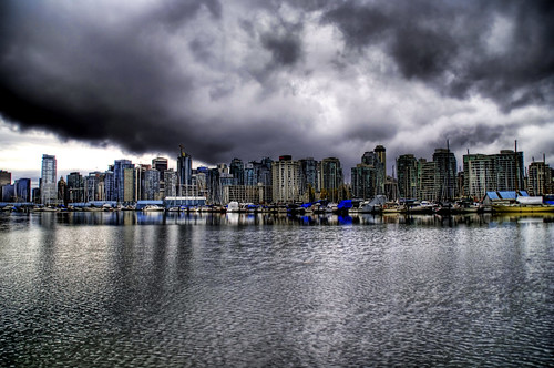 Evil Clouds Over Vancouver | by Stuck in Customs