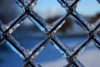 Fenced in ice | by Danzeye