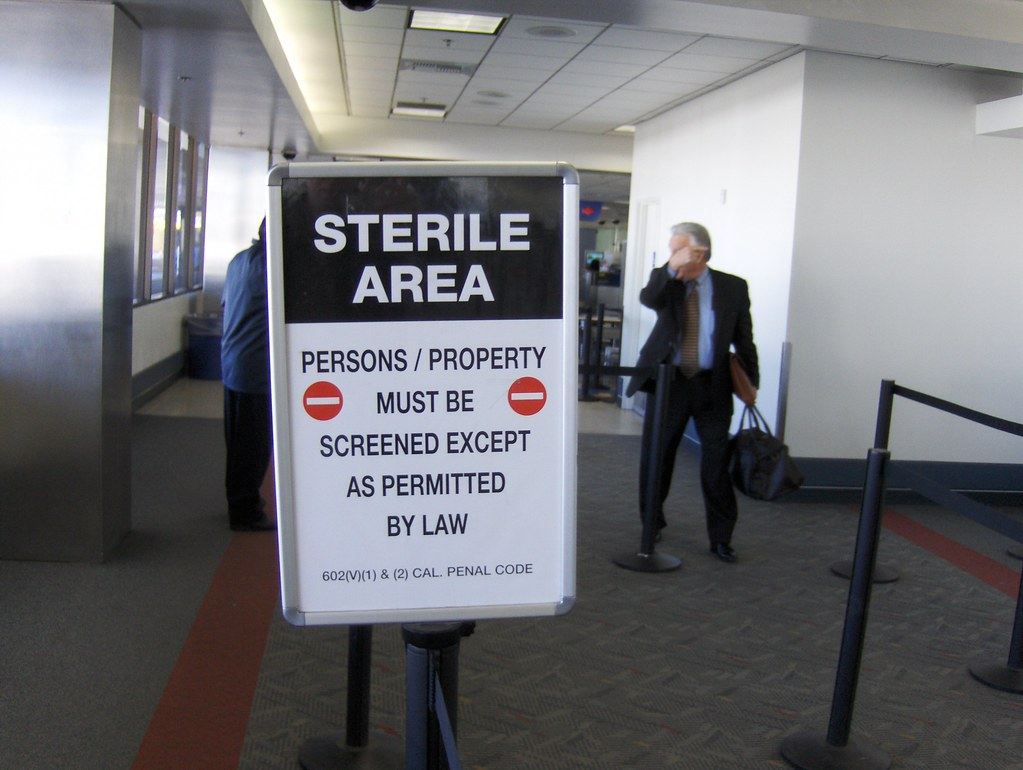 Sterile Area A Quot Sterile Area Quot At Los Angeles