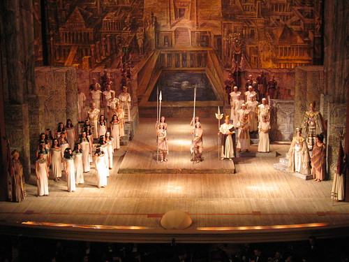 Aida in the opera