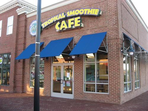 Tropical Smoothie Cafe Menu Eastgate