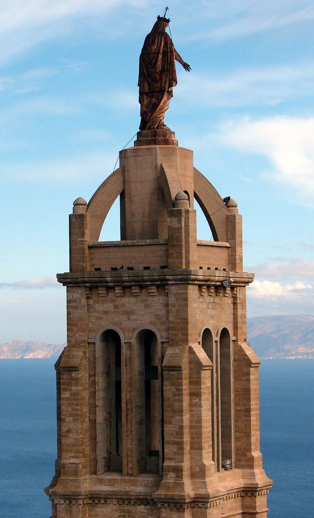 Santa Cruz Church Overlooking Oran Algeria The Amazing Flickr