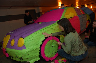 The Post-It Note Car... Finishing the Fenders | by Scott Ableman