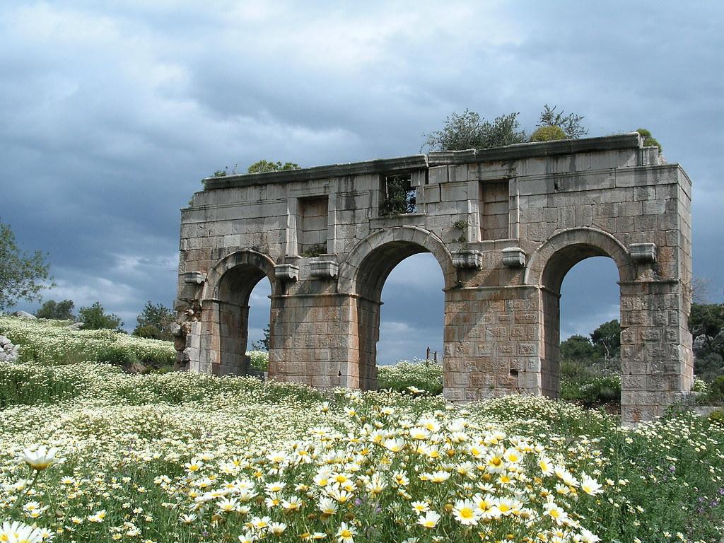 Roman Gateway, Patara, Turkey