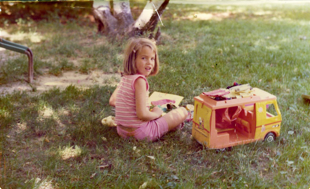 i loved my barbie camper | here i am about seven years, circ