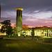Belmont University Tower - Night
