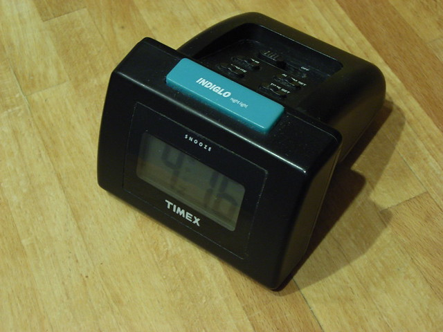Indiglo Alarm Clock This Is A Timex Indiglo Night Light