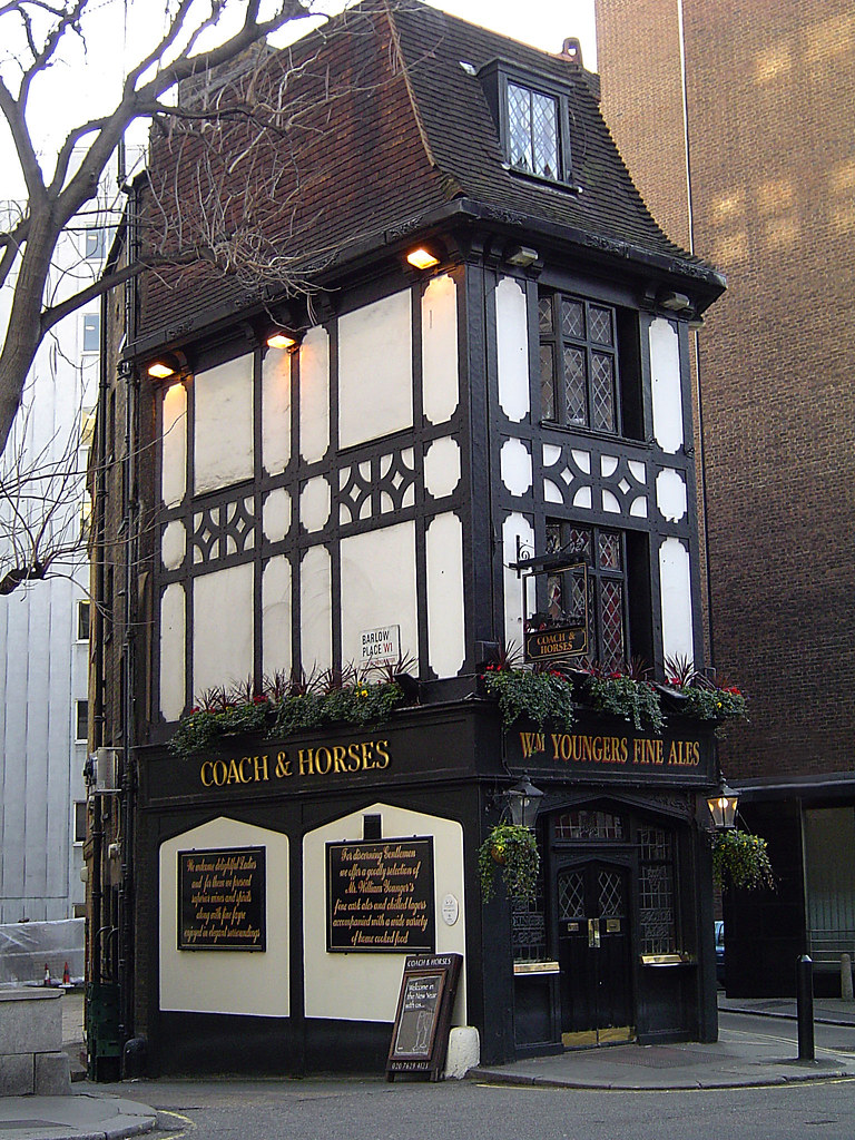 The Coach and Horses Pub  Mayfair  London   by Gadget