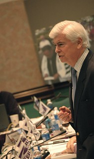 Sen. Chris Dodd | by SEIU International