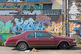 Street Parking: Graffiti  Backdrop | by the other Martin Taylor