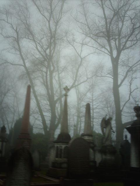Misty graveyard morning 1 by CherryDrake on DeviantArt