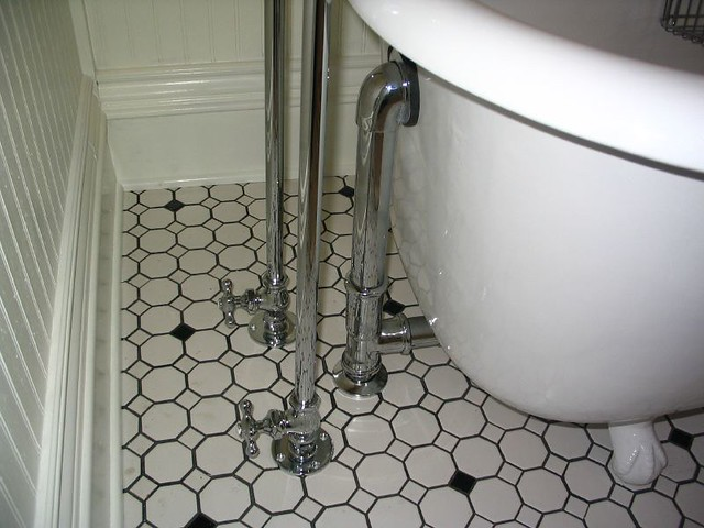 Clawfoot Tub Faucet Supply Lines And Drain Mindy Flickr