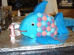 Rainbow Fish Cake Recipe