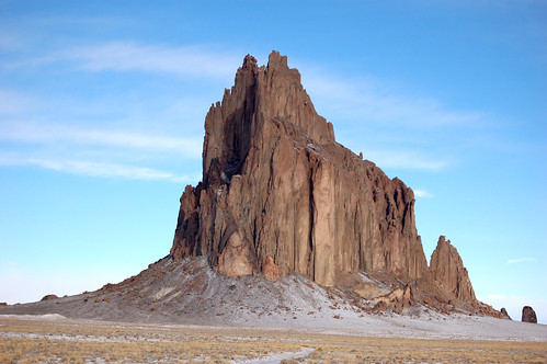 Shiprock | by bowiesnodgrass