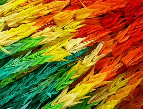 Origami Paper Cranes for Peace | by scott photos