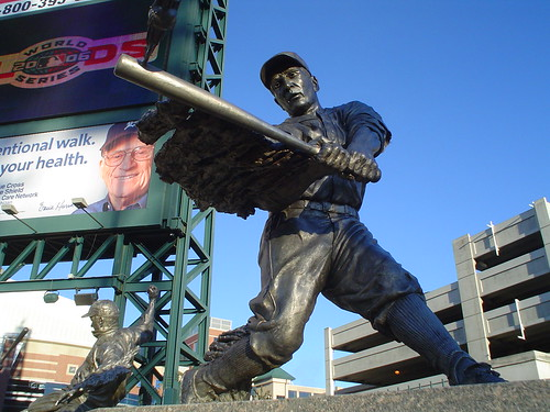 Statue of Hank Greenberg | by aaronjwebb