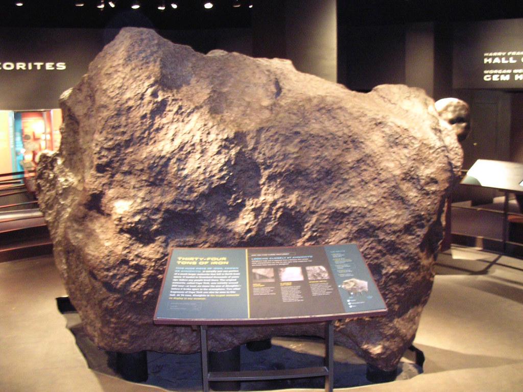 Ross Hall Of Meteorites Cape York Meteorite Ahnighito F