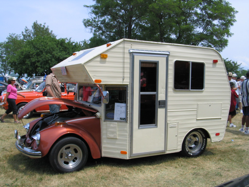 "Vw Bug Camper >> caught the campin' bug | This ""camper"" could be the poster c… 