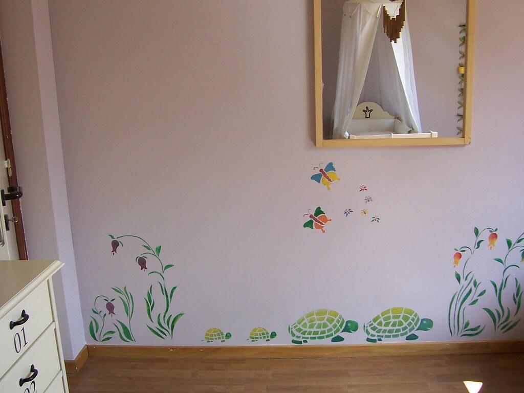 Baby Room Wall Colors Rainbwo Theme